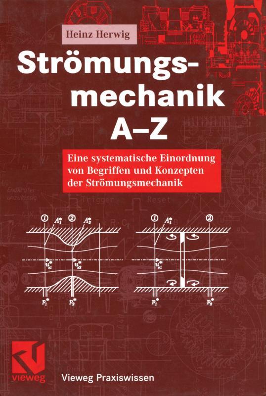 Cover-Bild Strömungsmechanik A-Z