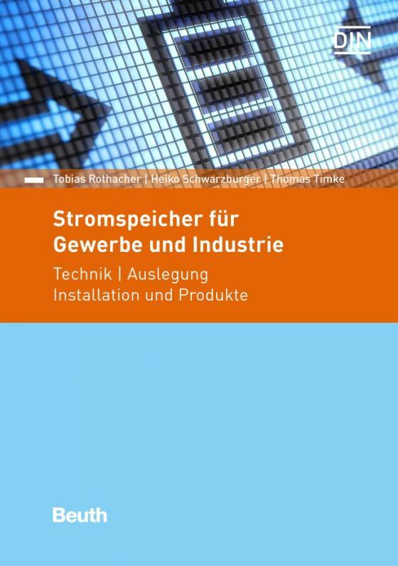 Cover-Bild Stromspeicher für Gewerbe und Industrie