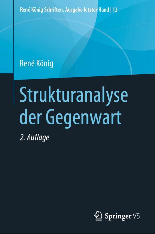 Cover-Bild Strukturanalyse der Gegenwart