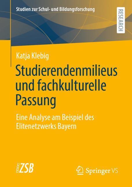 Cover-Bild Studierendenmilieus und fachkulturelle Passung