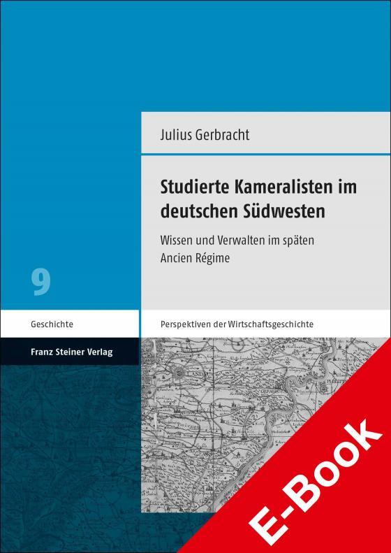 Cover-Bild Studierte Kameralisten im deutschen Südwesten