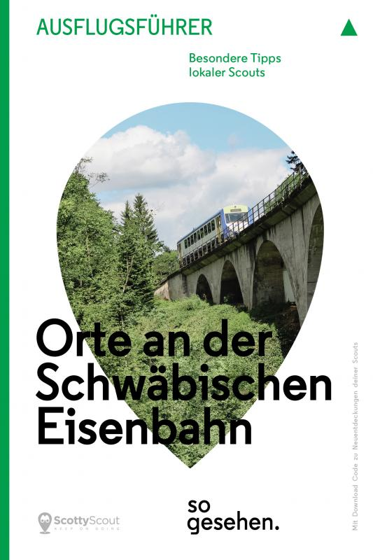 Cover-Bild Stuttgart Ausflugsführer: Orte an der Schwäbischen Eisenbahn so gesehen.