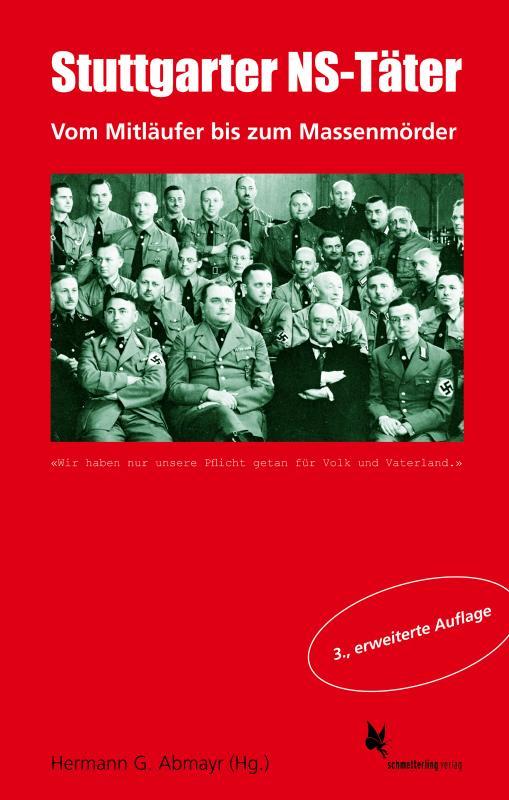 Cover-Bild Stuttgarter NS-Täter, 3. Aufl.