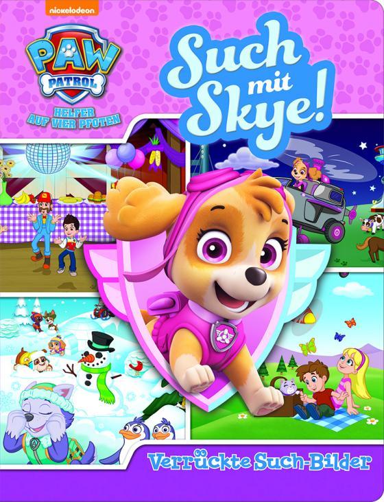 Cover-Bild Such mit Skye! - Verrückte Such-Bilder - PAW Patrol - Wimmelbuch mit lustigen Lernspielen - Pappbilderbuch mit 18 Seiten für Kinder ab 18 Monaten
