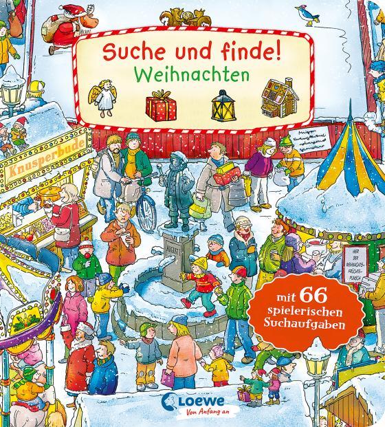 Cover-Bild Suche und finde! - Weihnachten