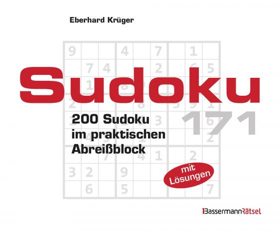 Cover-Bild Sudoku Block 171 (5 Exemplare à 2,99 €)