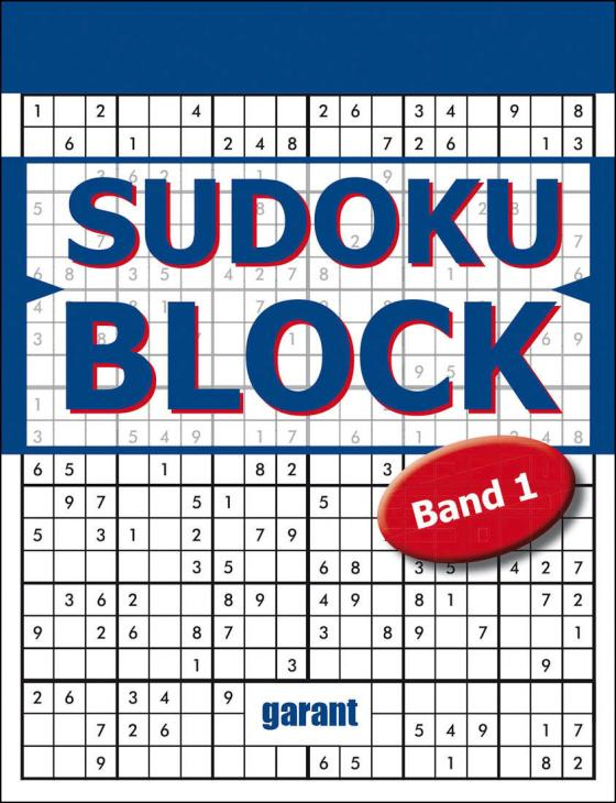 Cover-Bild Sudoku Block Band 1