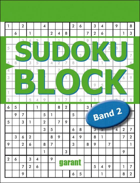 Cover-Bild Sudoku Block Band 2