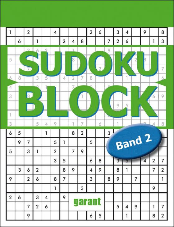 Cover-Bild Sudoku Block Band 2