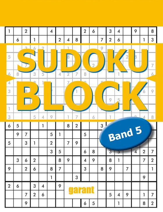 Cover-Bild Sudoku Block Band 5