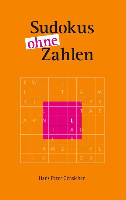 Cover-Bild Sudokus ohne Zahlen