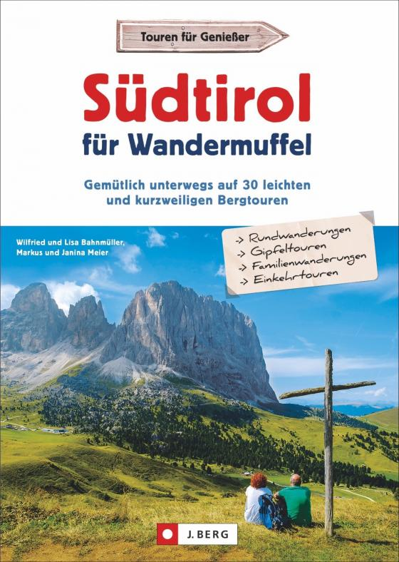 Cover-Bild Südtirol für Wandermuffel