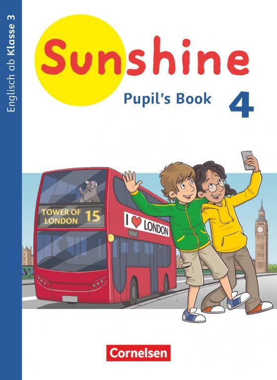 Cover-Bild Sunshine - Englisch ab Klasse 3 - Allgemeine Ausgabe 2020 - 4. Schuljahr