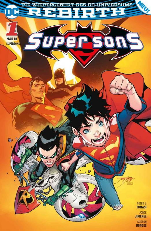 Cover-Bild Super Sons