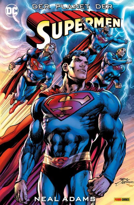 Cover-Bild Superman: Die Ankunft der Supermen