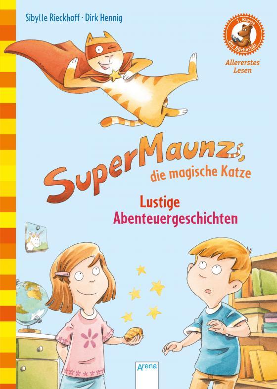Cover-Bild SuperMaunz, die magische Katze. Lustige Abenteuergeschichten