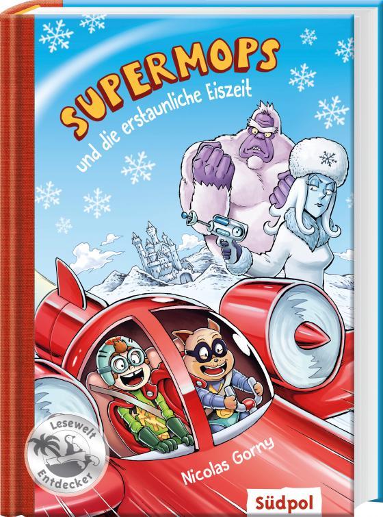 Cover-Bild Supermops und die erstaunliche Eiszeit