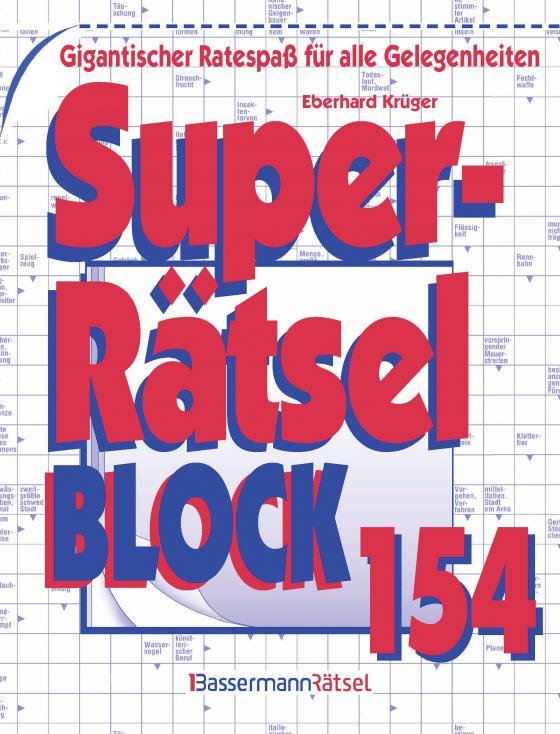 Cover-Bild Superrätselblock 154 (5 Exemplare à 3,99 €)