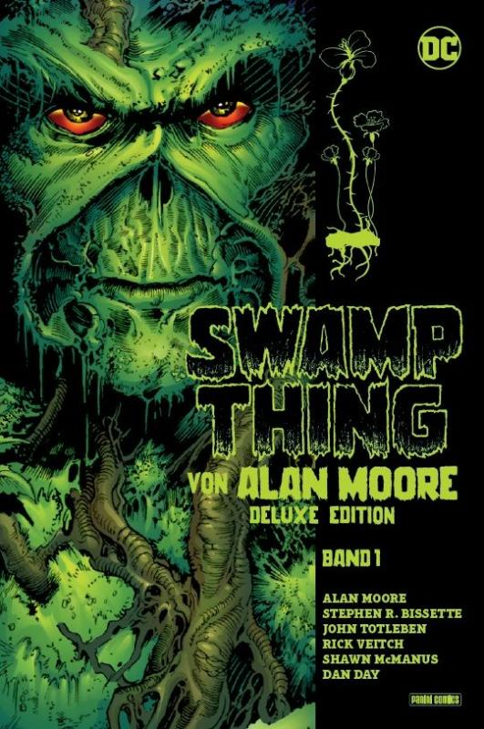 Cover-Bild Swamp Thing von Alan Moore (Deluxe Edition)