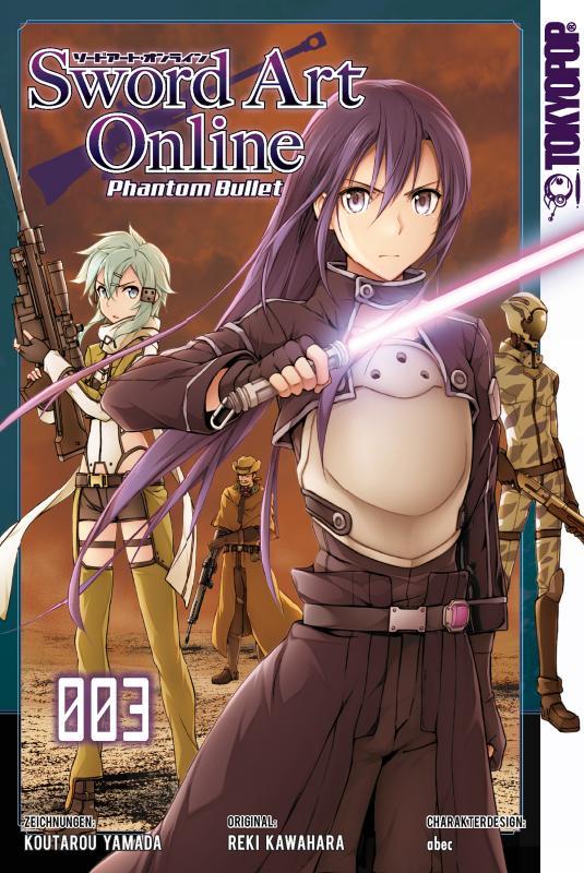 Cover-Bild Sword Art Online Phantom Bullet - Band 3