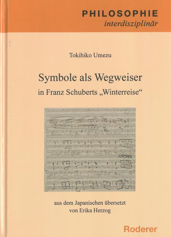 """Cover-Bild Symbole als Wegweiser in Franz Schuberts """"Winterreise"""""""