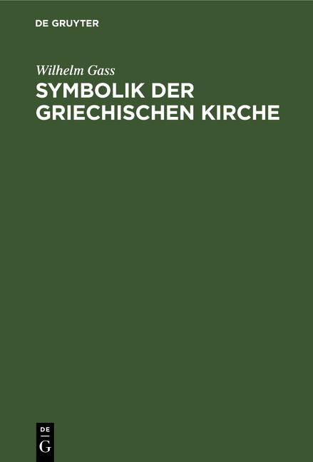 Cover-Bild Symbolik der griechischen Kirche