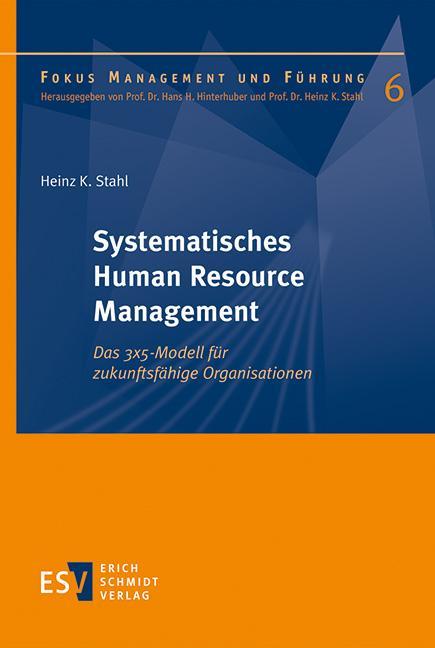 Cover-Bild Systematisches Human Resource Management