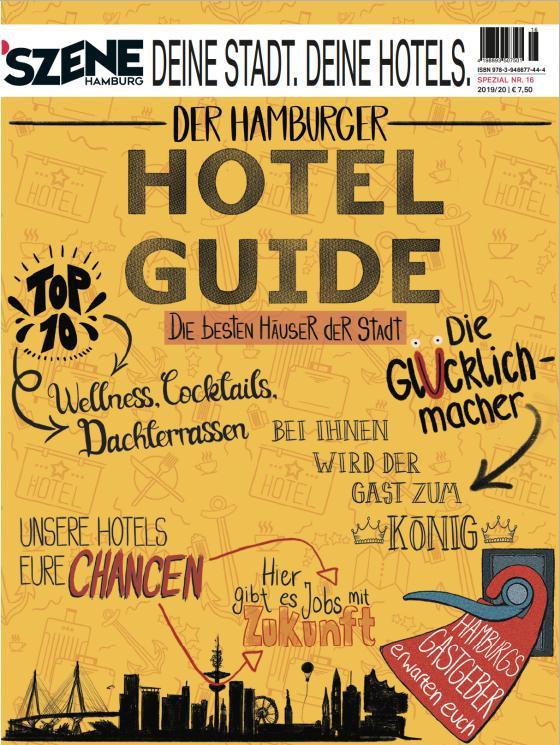 Cover-Bild SZENE HAMBURG DEINE STADT. DEINE HOTELS 2019/2020