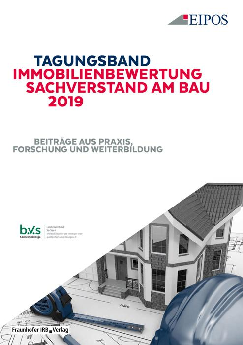 Cover-Bild Tagungsband Immobilienbewertung und Sachverstand am Bau 2019.