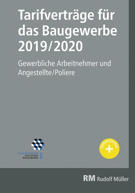 Cover-Bild Tarifverträge für das Baugewerbe 2019/2020