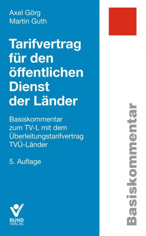 Cover-Bild Tarifvertrag für den öffentlichen Dienst der Länder