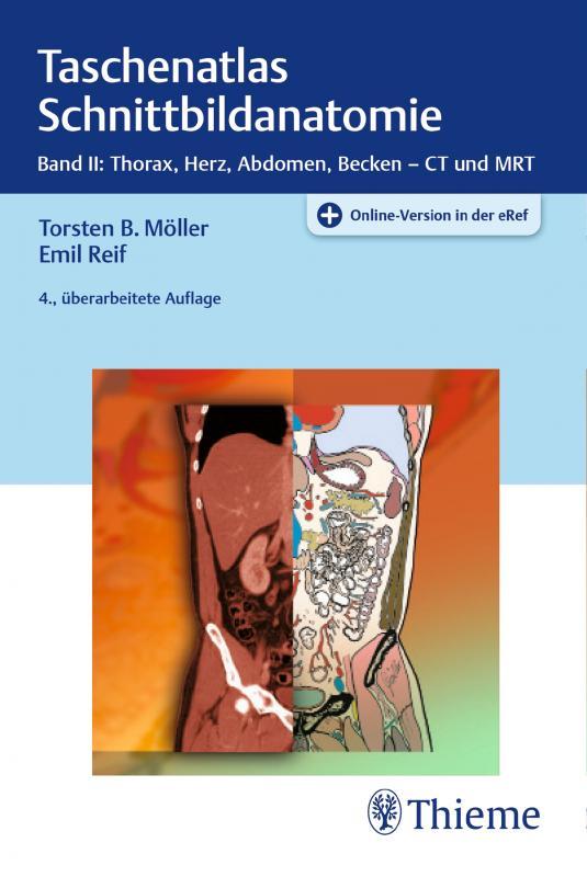 Cover-Bild Taschenatlas Schnittbildanatomie