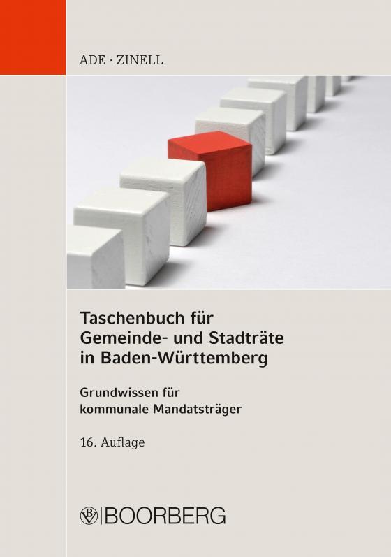 Cover-Bild Taschenbuch für Gemeinde- und Stadträte in Baden-Württemberg