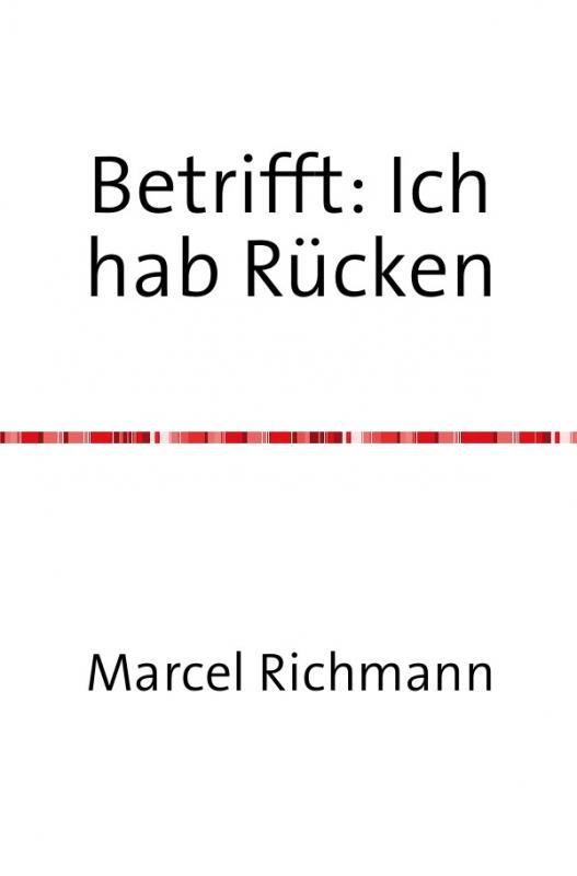 Cover-Bild Taschenbücher für Wissen und Praxis / Betrifft: Ich hab Rücken
