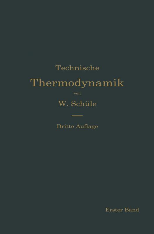 Cover-Bild Technische Thermodynamik
