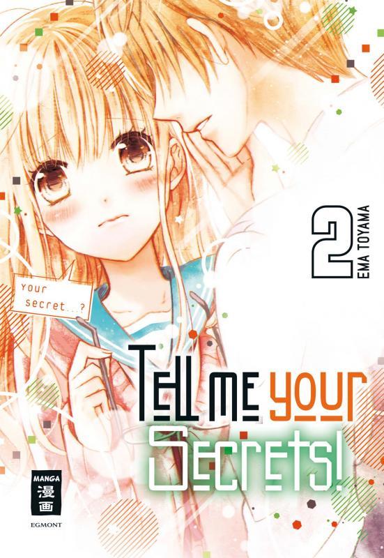 Cover-Bild Tell me your Secrets! 02