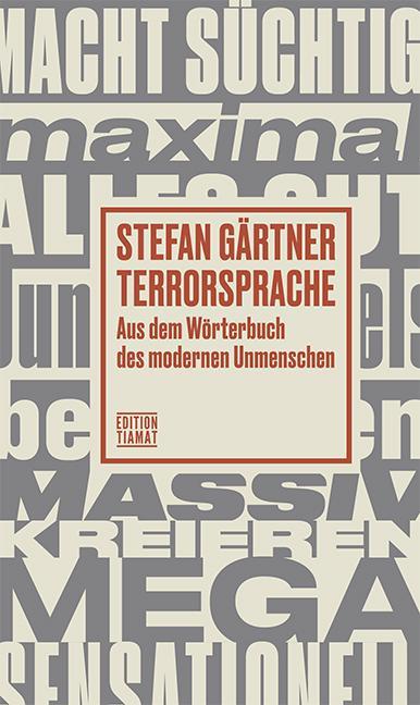 Cover-Bild Terrorsprache