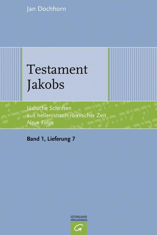 Cover-Bild Testament Jakobs