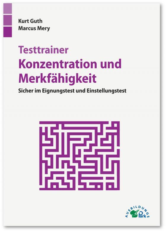 Cover-Bild Testtrainer Konzentration und Merkfähigkeit