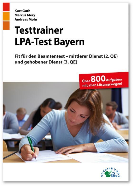 Cover-Bild Testtrainer LPA-Test Bayern