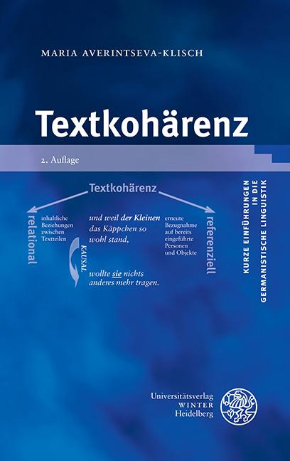 Cover-Bild Textkohärenz
