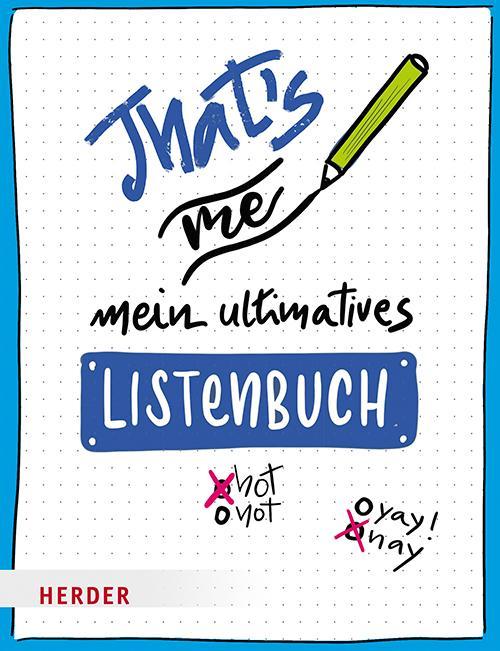 Cover-Bild That's me – Mein ultimatives Listenbuch