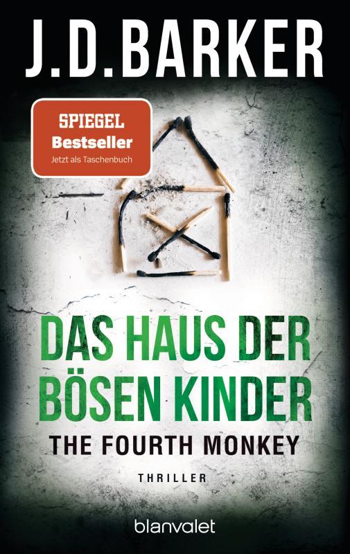 Cover-Bild The Fourth Monkey - Das Haus der bösen Kinder