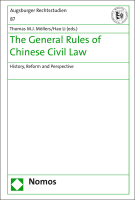 Cover-Bild The General Rules of Chinese Civil Law