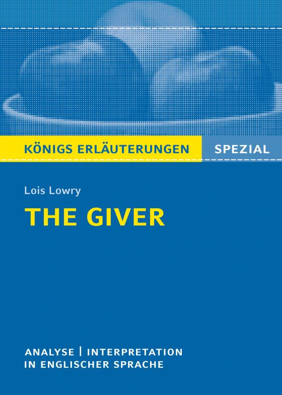 Cover-Bild The Giver von Lois Lowry.