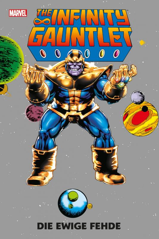 Cover-Bild The Infinity Gauntlet: Die ewige Fehde