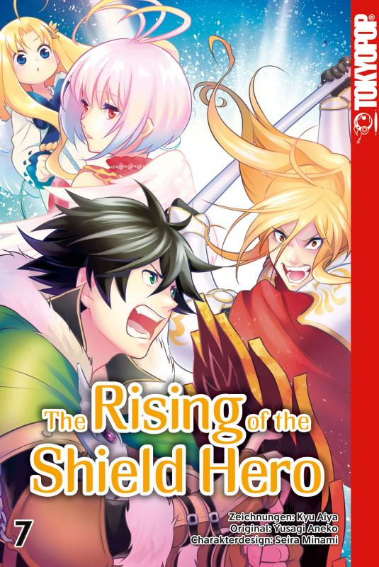 Cover-Bild The Rising of the Shield Hero 07