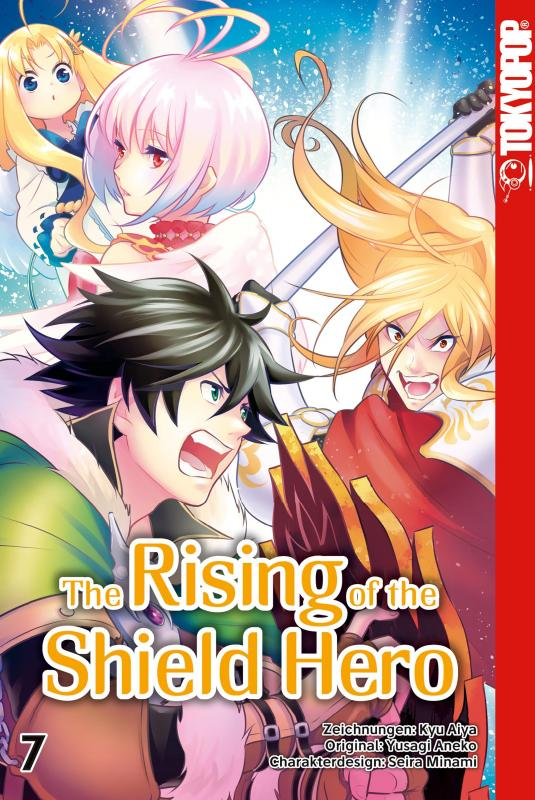 Cover-Bild The Rising of the Shield Hero - Band 7