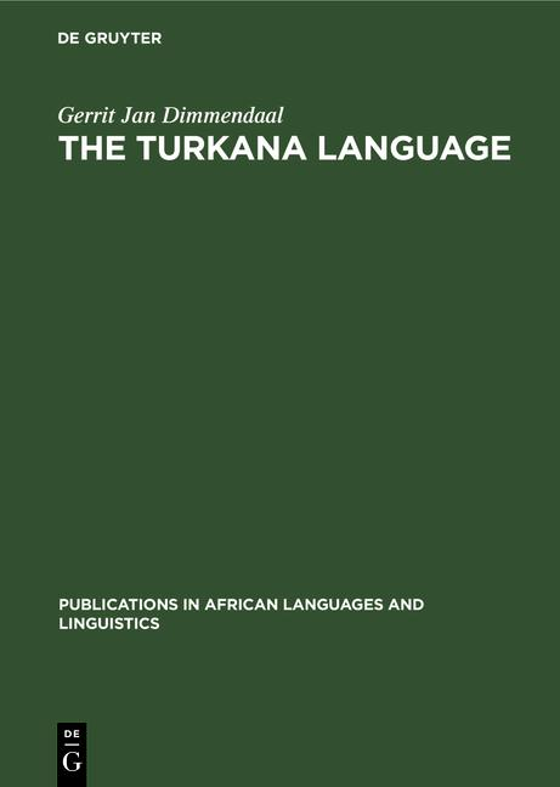 Cover-Bild The Turkana Language