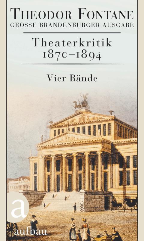 Cover-Bild Theaterkritik 1870-1894